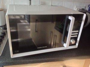 glass microwave