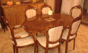 Italian vintage dining table