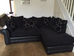 two piece corner sofa