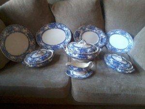 vintage dinner ware