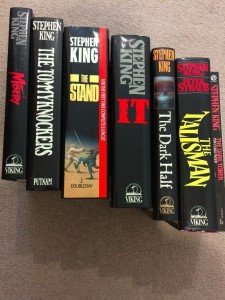 seven Stephen King books