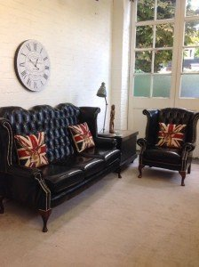 Chesterfield sofa suite