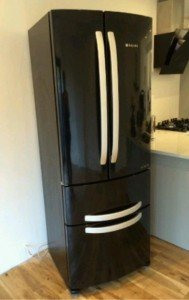 steel fridge freezer