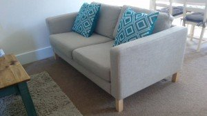 low back sofa