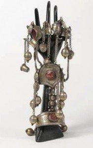 silver amulet bracelet