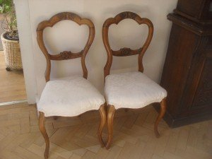 balloon back dining chairs