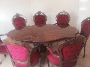 Italian dining table