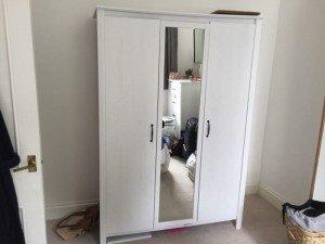 tall standing wardrobe