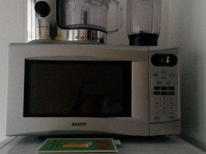 Sanyo large capacity microwave