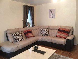 high back corner sofa