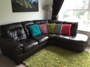 five seater corner sofa,