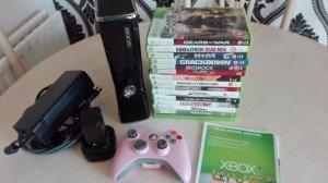 black slim Xbox 360