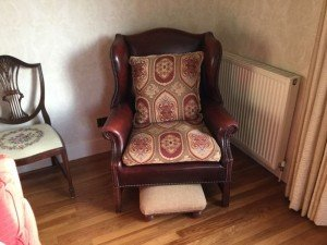 gentleman's club armchair