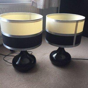 ceramic circular table lamps