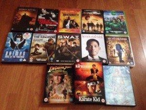 thirteen dvd's
