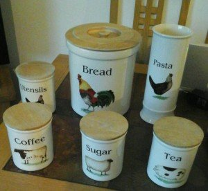 kitchen canister set