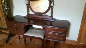 four drawer dressing table