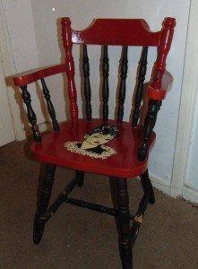 children's dresser chair