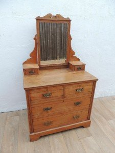 vintage vanity unit