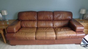 three seater high back sofa