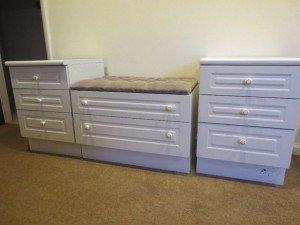 drawer seating unit