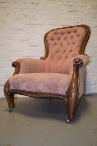 wing back armchair