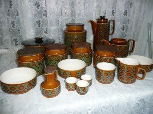 Hornsea pottery tea set