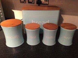 kitchen canister set