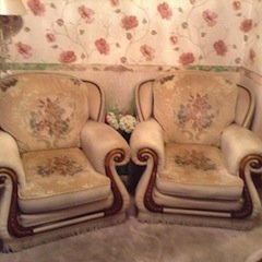 high back armchairs