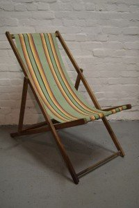 foldable deckchair