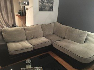 five seater corner sofa