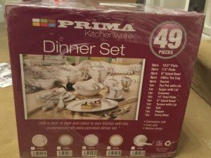 kitchen ware dinner set