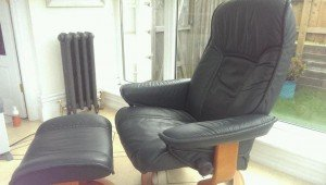 gentleman's swivel chair
