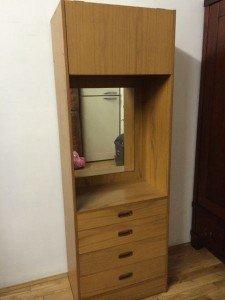 standing hall dresser