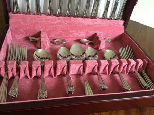 six place cutlery