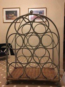 oval wine rack
