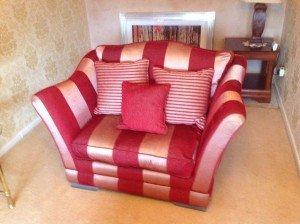 gentleman's club chair