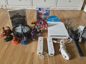 Wii console kit,