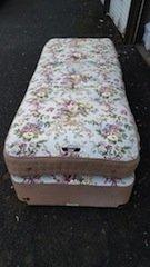 vintage divan bed