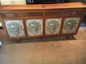 vintage radiator cover