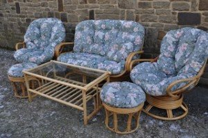 vintage bamboo conservatory suite