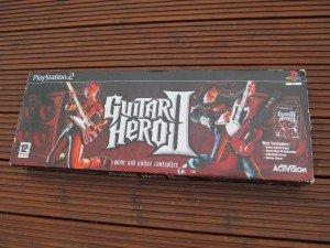 boxed Guitar Hero