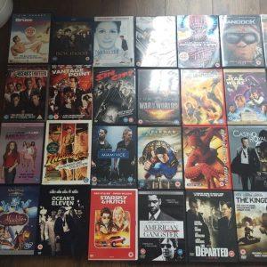 DVD's,