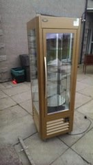 glass display fridge