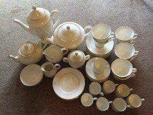 Wedgewood tea service