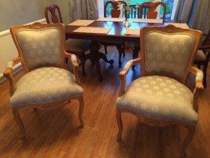 hall chairs,
